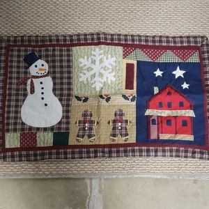 Other - Quilted Christmas Pillowcases